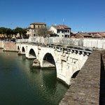 Tiberius Bridge - Rimini