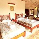 luxury twin bedded villa
