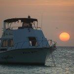 tramonto a Palm Beach