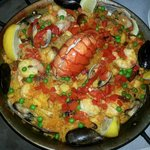 Mixed Paella with Lobster