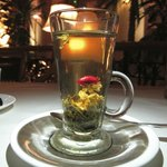 Lover's tea... Blossoms from a ball to flower!
