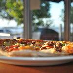 Hot, fresh woodfire pizza