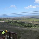 Your view from one of the ziplines!