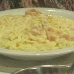 Tagliarini con salsa Udinese
