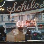 Schilo's Delicatessen- exterior window