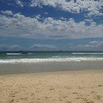 view of the beach near Beachcomber