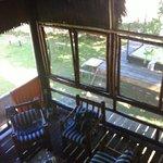 veiw from Bohio living room space