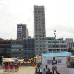 Frente del hotel (el mas alto) toma desde la Playa