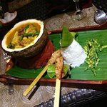 seafood stew with seafood satay