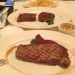 sirloin steak rocks!