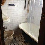 claw foot tub / shower
