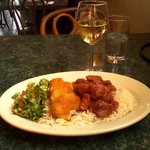 My meal at Khyber Pass Cafe
