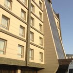 dorm-room looking hotel