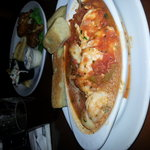 Cioppino happy hour $3.95 and delicious!