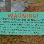 Artists Warning - funny and creepy