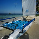 Hobie Cat at Silk Caye