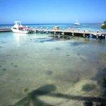 Boat Dock from restaurant