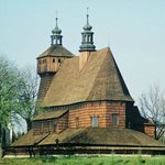 The Wooden Gothic Church of Virgin Mary