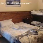 Would you call this a 20sq.m. quadruple room?
