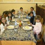 pranzo di Pasqua...la tavolata dei bimbi