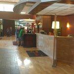 Reception Area & Car Rental