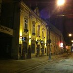 """U Zvonu"" at night"
