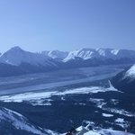 View of Turnagain Arm from the ski area
