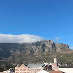 Vista della Table Mountain dall'hotel