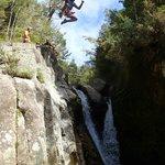 First rock jump (6m)