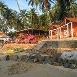 Green Park Beach Hut Resort Palolem beach