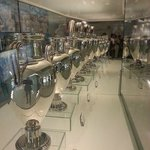 See all the trophies of Real Madrid at Bernabeu, Madrid