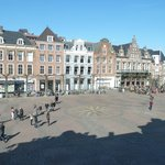 View of the Grote Markt from bedroom window