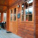Rowan Lodge veranda