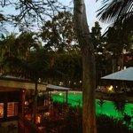 restaurant & pool area