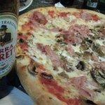 pizza del menú