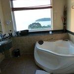 View from 6th floor bathroom towards Snake Island