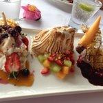 dessert sampler!
