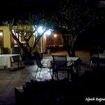 Dinning area at night