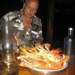 Great lobster dinner