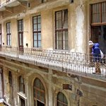 Courtyard side of appartment in 1871 listed building