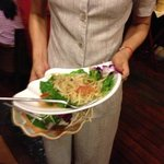 not fresh papaya salad, manager try to bring it back.... no comment