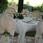 Tavolo in veranda