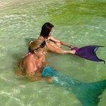 Mermaid lessons in the algae (station 1)