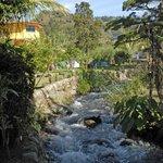 river on Isla Verde property