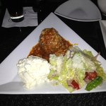 Cafe Martorano's Meatball and a Salad