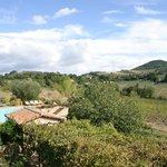 Vista dalla suite San Donato