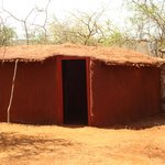 The exterior of our private manyattas.