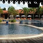 Main pool, clean and nice but noisy