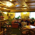 Bar'en og sofa område, et dejligt sted til after ski :-)