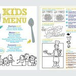 Kids menu also available!